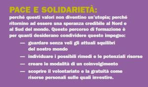 Pace e solidarietà