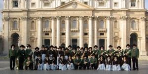 Corpo Bandistico di Caldonazzo (Tn) piazza San Pietro Roma