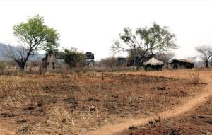 paesaggio del distretto di Caia nei pressi di Bueza