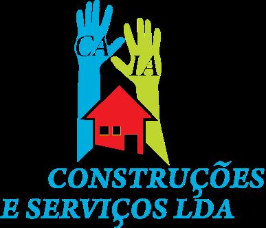 Logo Caia Construções colorato