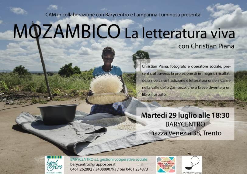 Mozambico la letteratura viva